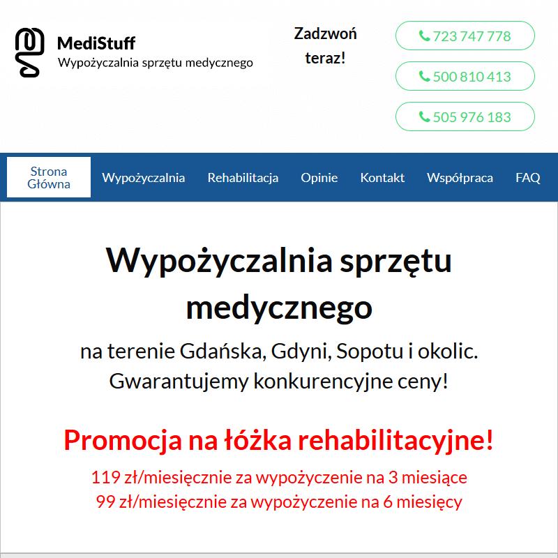 Sprzęt medyczny do domu Gdańsk