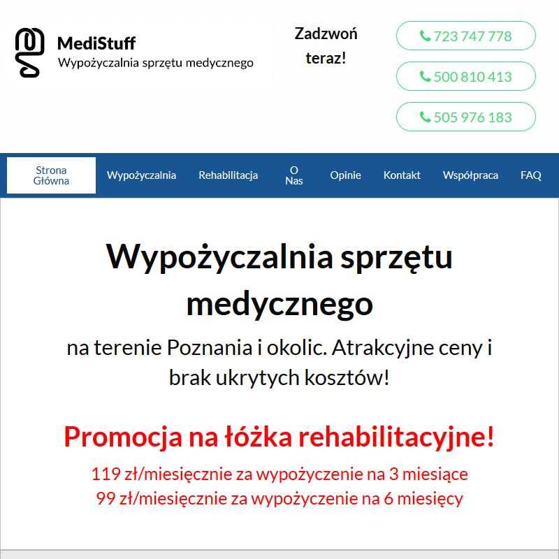 Sprzęt medyczny do domu Poznań