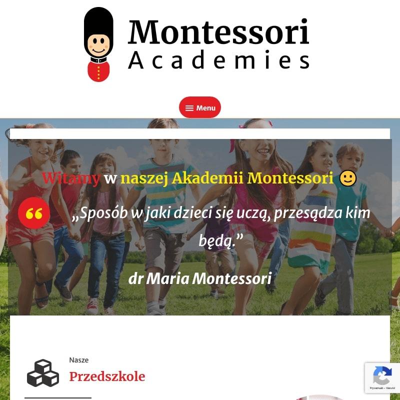 Prywatne przedszkola Montessori