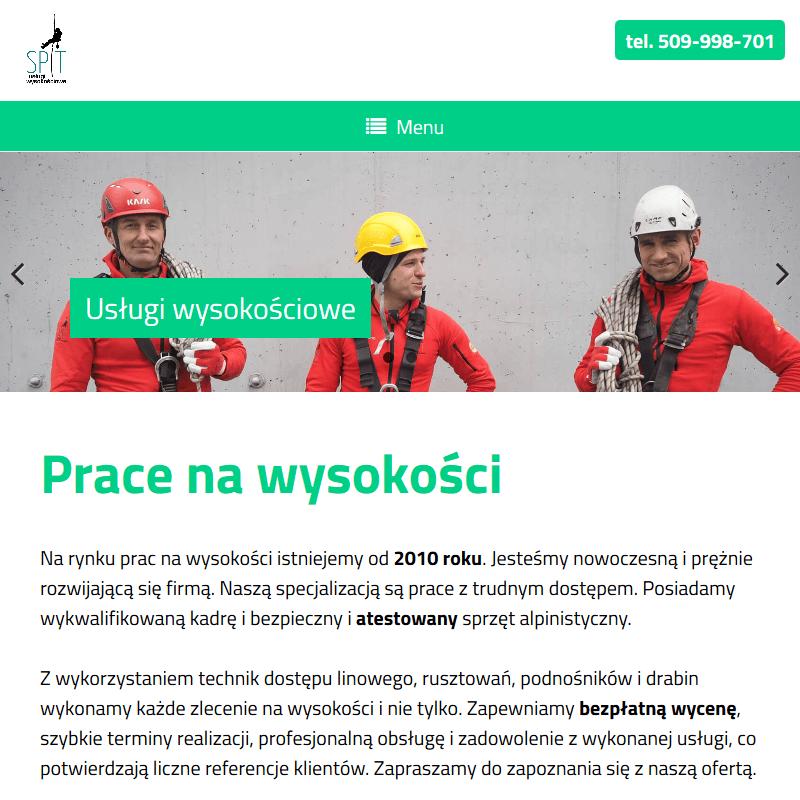 Prace wysokościowe - Kraków