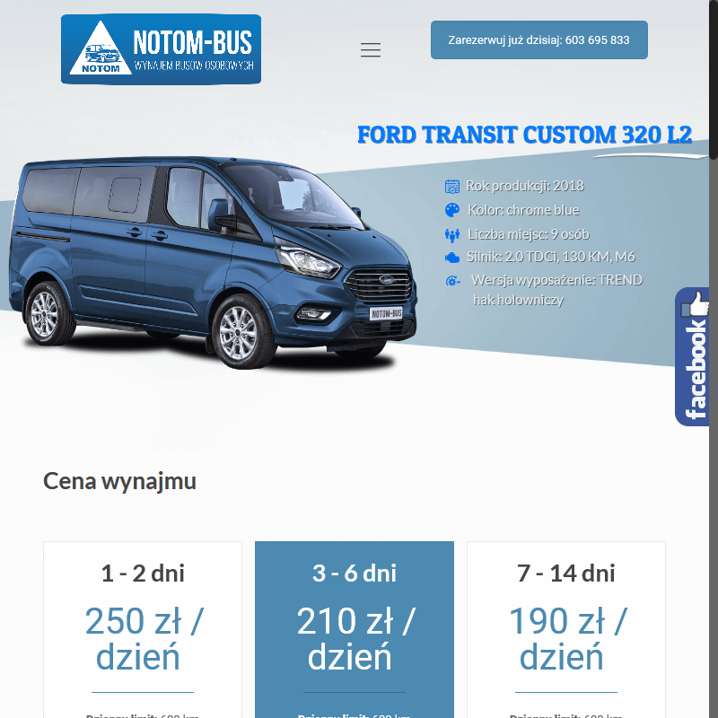 Wypożyczenie busa - Leszno
