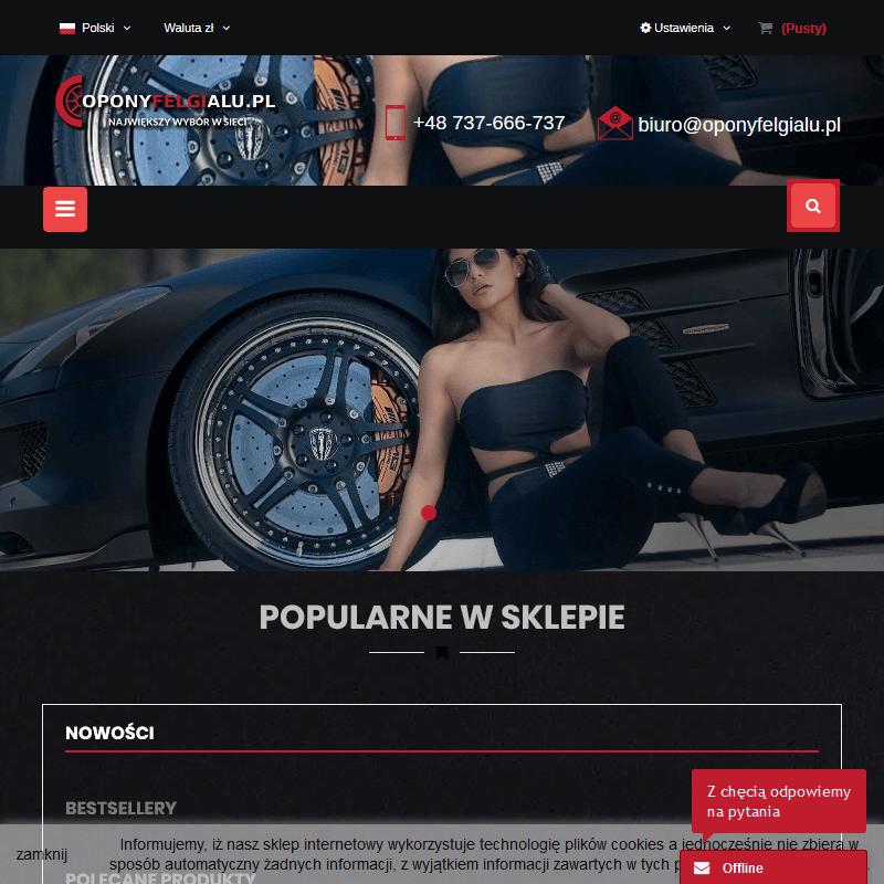 Felgi aluminiowe - Poznań