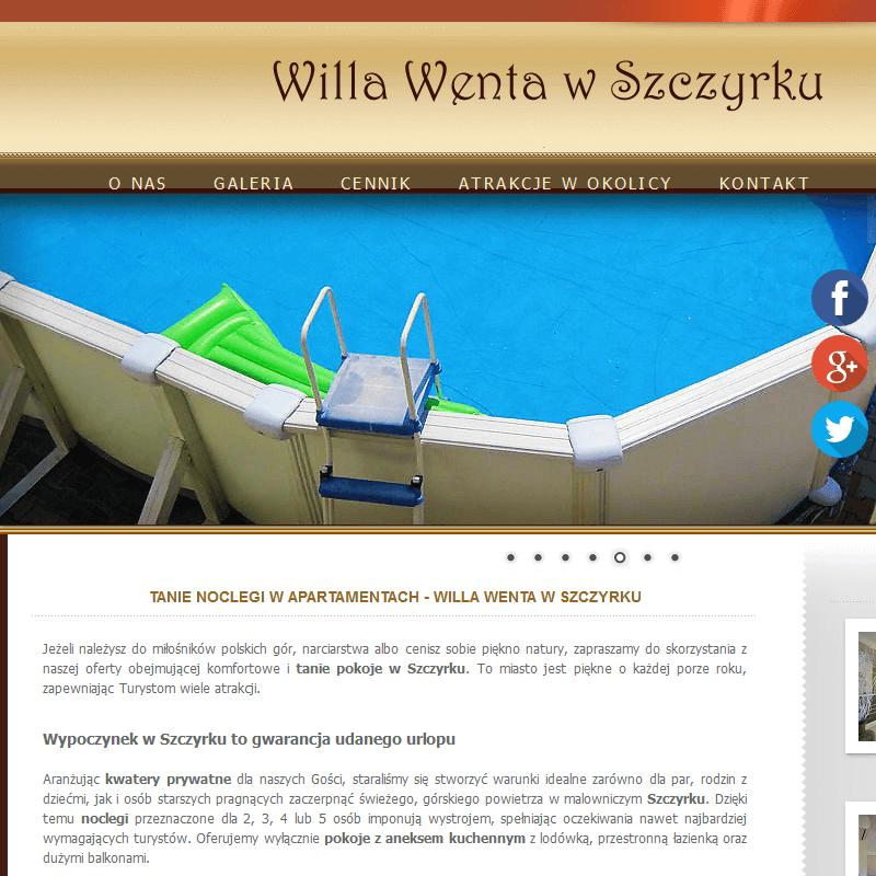 Hotel z basenem - Szczyrk