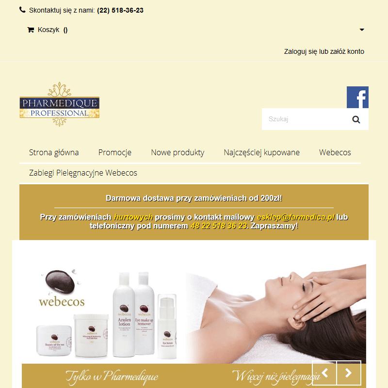 Kosmetyki profesjonalne Webecos