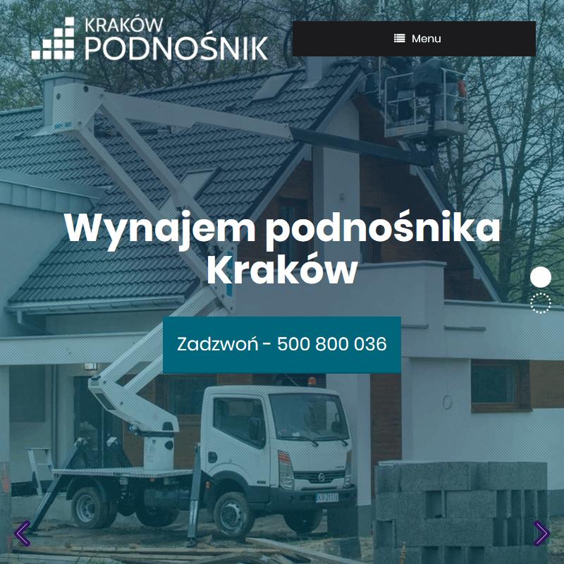 Podnośniki koszowe - Kraków