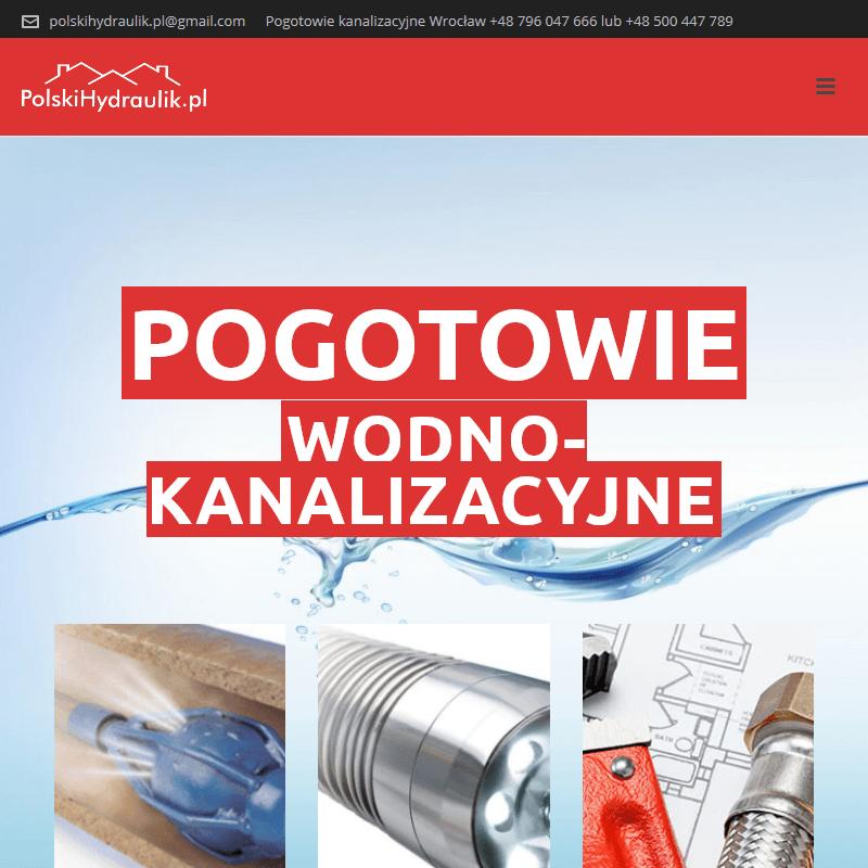 Usługi hydrauliczne 24h - Wrocław