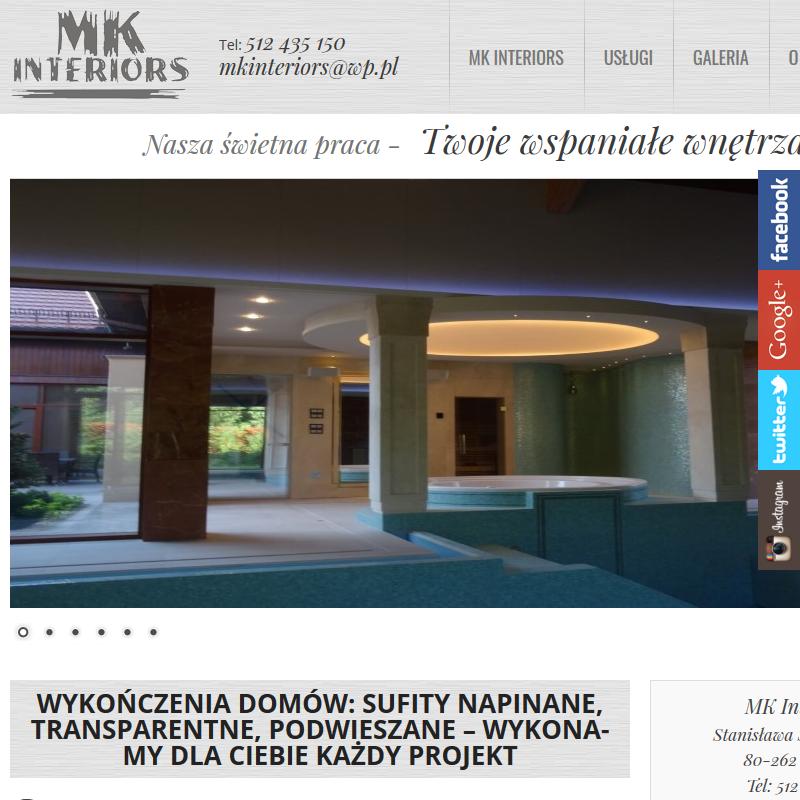 Montaż sufitów napinanych - Bydgoszcz