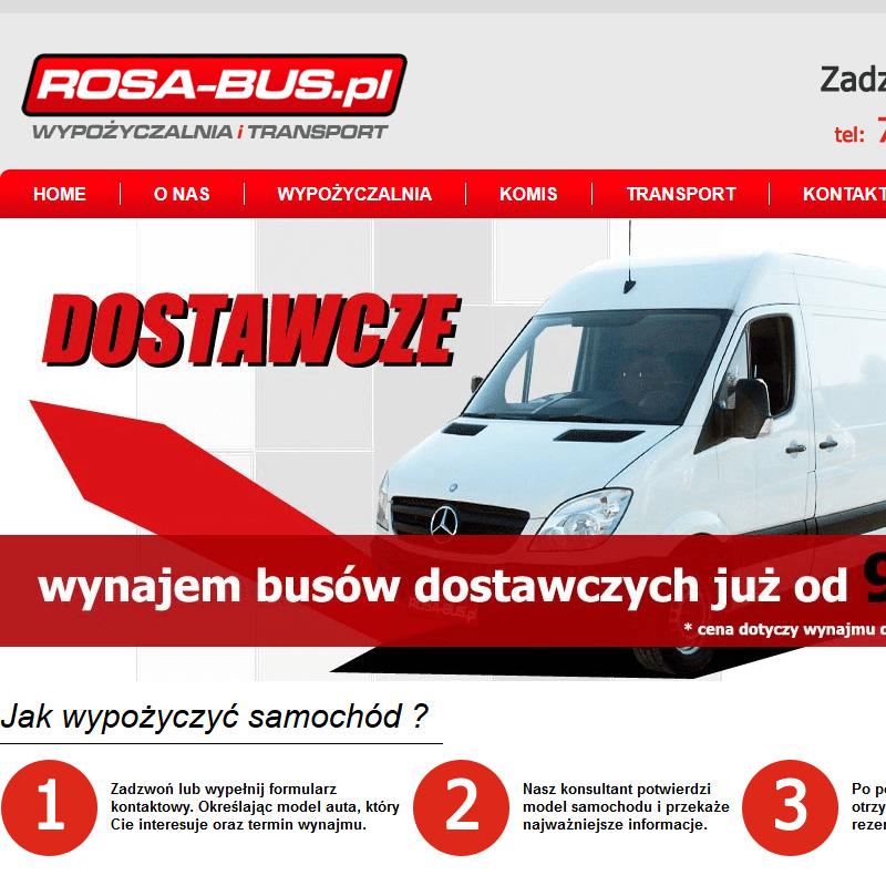 Wynajem busów dostawczych Radom