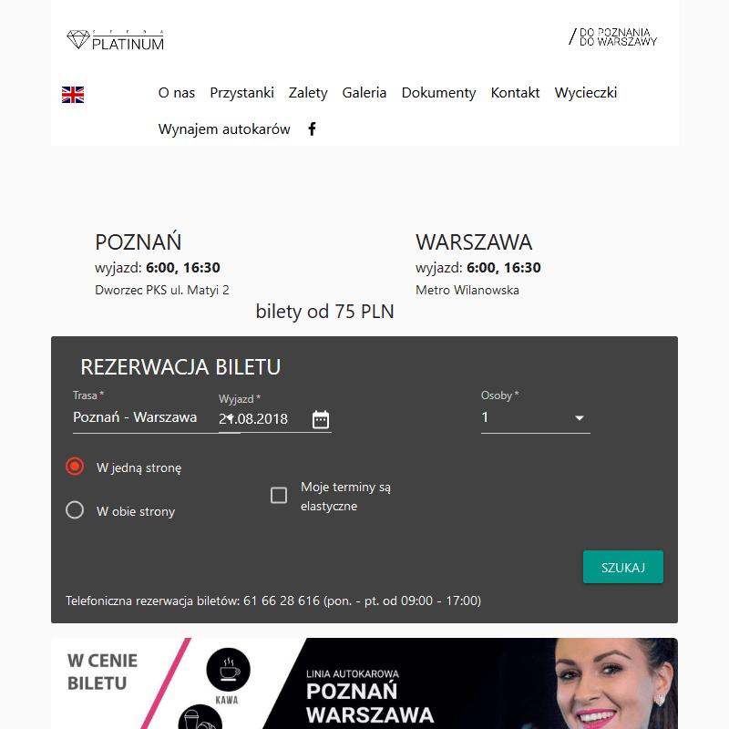 Przewozy biznesowe - Poznań