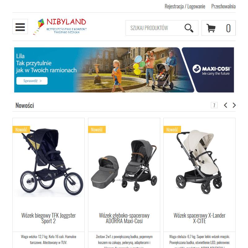 Sklep z wózkami dziecięcymi