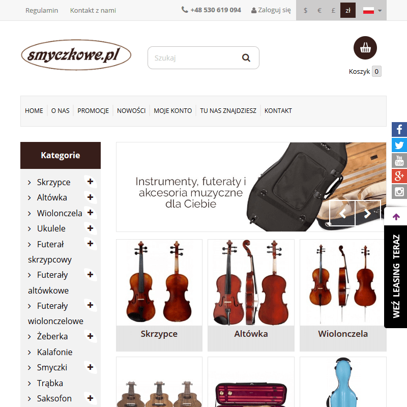Instrumenty skrzypcowe
