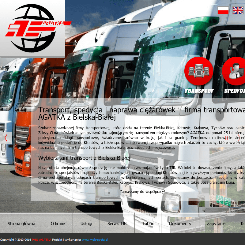 Transport międzynarodowy Bielsko
