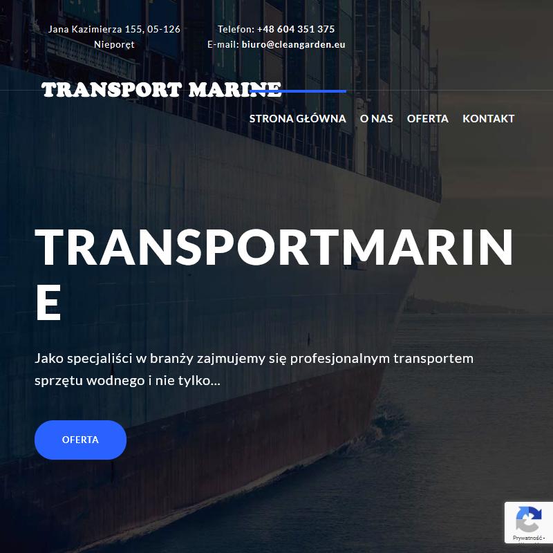 Transportowanie łodzi