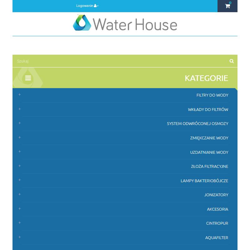 Przemysłowy filtr do wody