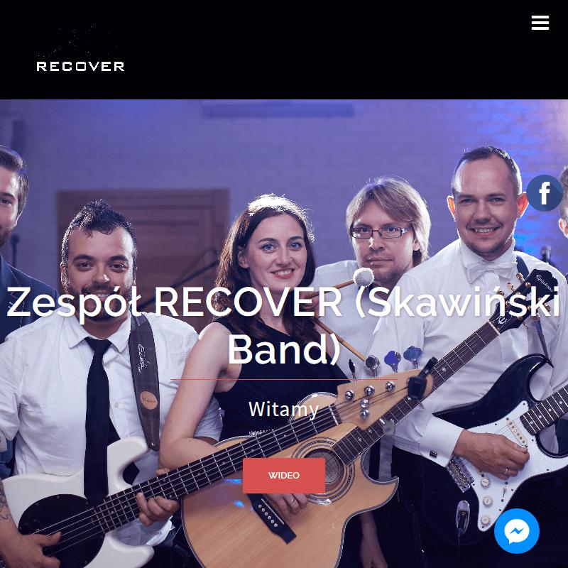 Zespół muzyczny Recover z Poznania